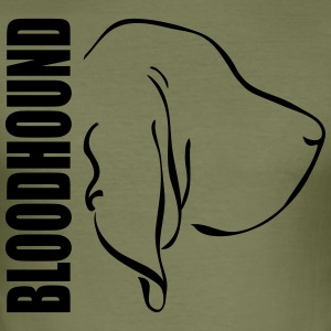 BLOODHOUND PROFILE - Men's Slim Fit T-Shirt