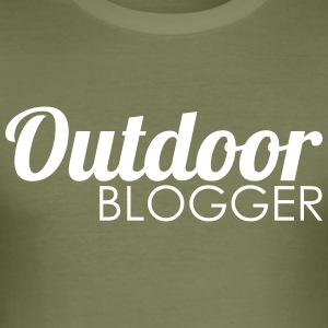 Outdoor blogger - Men's Slim Fit T-Shirt