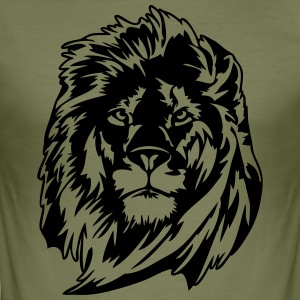 Lion - Slim Fit T-skjorte for menn