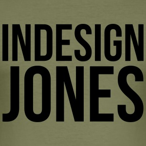InDesign Jones - Maglietta aderente da uomo