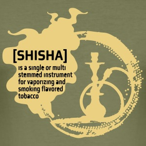 [SHISHA] - Slim Fit T-skjorte for menn