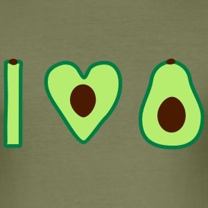 Ik hou van avocado - slim fit T-shirt