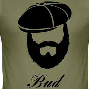 Bud - Slim Fit T-shirt herr