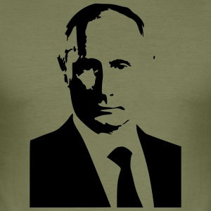 Vladimir Putin (Black print) - slim fit T-shirt