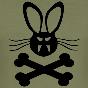 Killer_Rabbit_Hase - Männer Slim Fit T-Shirt