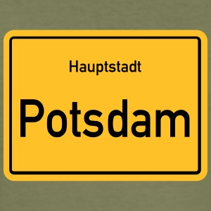 City of Potsdam - Men's Slim Fit T-Shirt