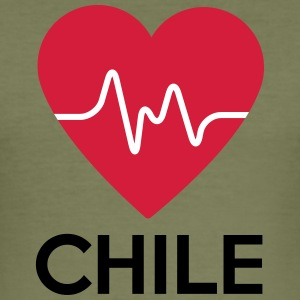 heart Chile - Men's Slim Fit T-Shirt