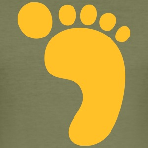 Big Footprint! - Men's Slim Fit T-Shirt