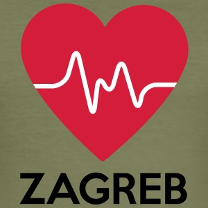 heart Zagreb - Men's Slim Fit T-Shirt