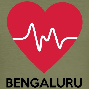 heart Bengaluru - Men's Slim Fit T-Shirt