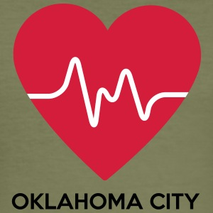 Heart Oklahoma City - Slim Fit T-shirt herr