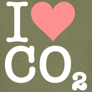 Ik hou van CO2 - slim fit T-shirt