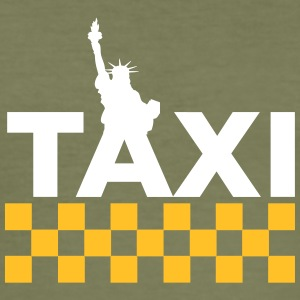 New York Taxi - Slim Fit T-skjorte for menn