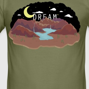 Dreamland I - Men's Slim Fit T-Shirt