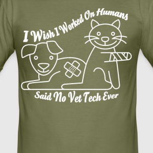 Vet Tech - slim fit T-shirt
