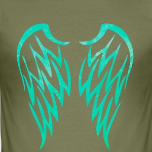 wings - Men's Slim Fit T-Shirt