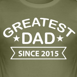 Greatest Dad since - Men's Slim Fit T-Shirt