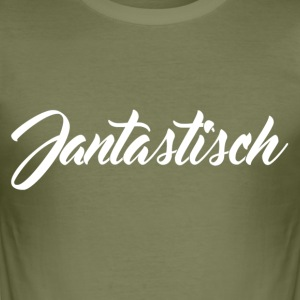 Jantastisch Merchandise - Slim Fit T-skjorte for menn