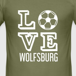 LOVE WOLFSBURG - Men's Slim Fit T-Shirt