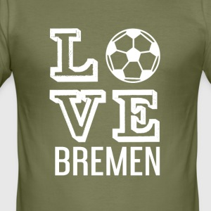 LOVE BREMEN - Men's Slim Fit T-Shirt