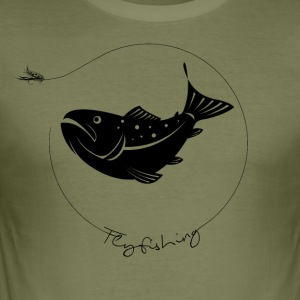 troutfly - Men's Slim Fit T-Shirt
