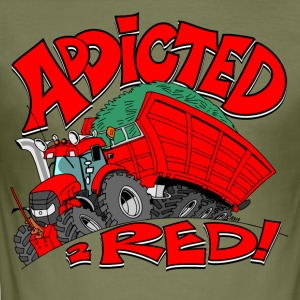 Addicted2RED - Männer Slim Fit T-Shirt