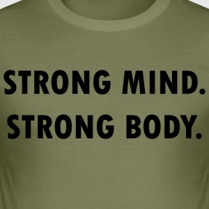 Strong mind! - Männer Slim Fit T-Shirt