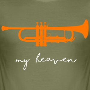 my heaven - Männer Slim Fit T-Shirt
