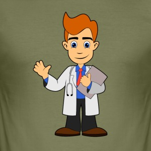 Doctor Doctor Hospital - Men's Slim Fit T-Shirt