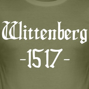 Wittenberg 1517 - Männer Slim Fit T-Shirt