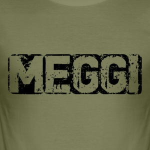 Meggi Logo - Herre Slim Fit T-Shirt