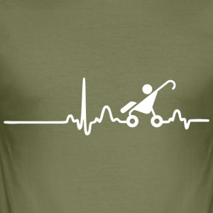 ECG HART LINE KINDEREN wit - slim fit T-shirt