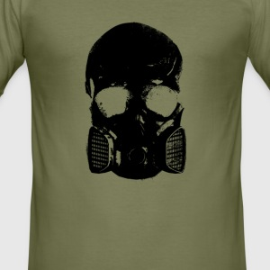 anti gas schedel - slim fit T-shirt