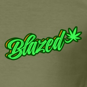 blazed - Slim Fit T-shirt herr