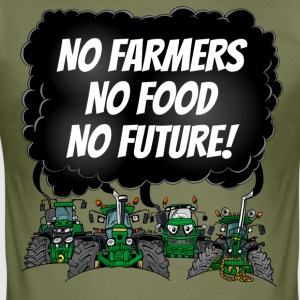 food_tshirt_groen - slim fit T-shirt