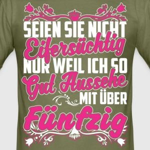 fifty - Männer Slim Fit T-Shirt