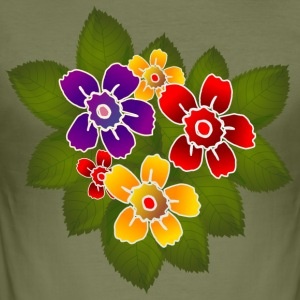 bloemen - slim fit T-shirt