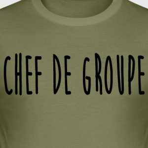 chef_de_groupe - Slim Fit T-shirt herr
