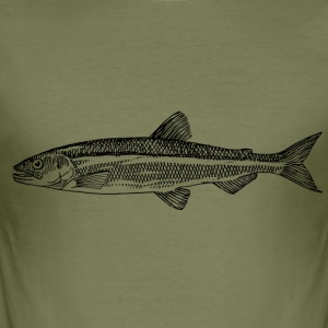 trout anglers - Men's Slim Fit T-Shirt