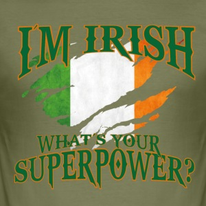 Irland! Irsk! St. Patricks Day! - Slim Fit T-skjorte for menn