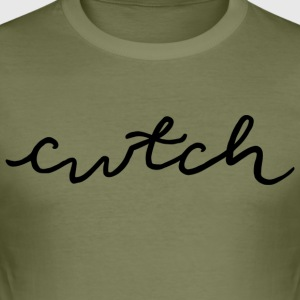 cwtch, kæle på walisisk - Herre Slim Fit T-Shirt