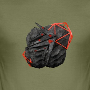 TaMiSFX's Logo with Textures - Men's Slim Fit T-Shirt