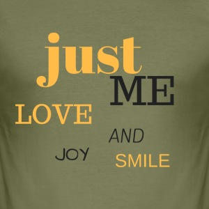 JUST ME - Men's Slim Fit T-Shirt