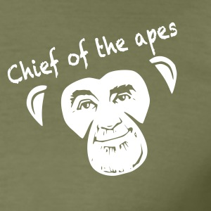 Chief of the apes - Maglietta aderente da uomo