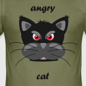 Mad cat - Men's Slim Fit T-Shirt
