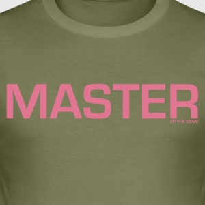 Master of the Game - Men's Slim Fit T-Shirt