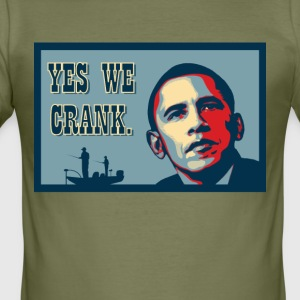 Yes We Crank! - Männer Slim Fit T-Shirt