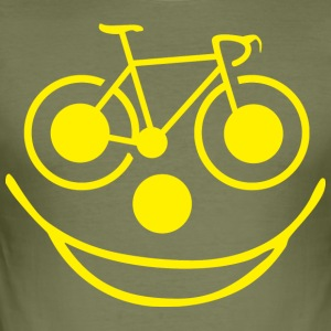 Funny Bicycle - Men's Slim Fit T-Shirt