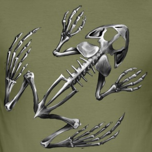 Frog skeleton - slim fit T-shirt