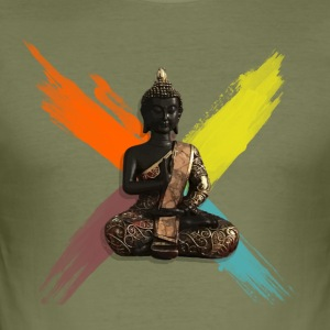 Buddha - Men's Slim Fit T-Shirt
